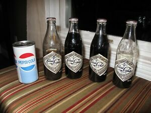 Coca-cola 75th - Chattanooga 1974 Lot + Unopened Pepsi Pull Tab