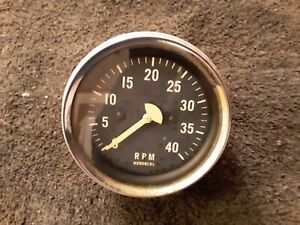 Vintage 40 Rpm Hundreds Gauge Car Truck Ratrod