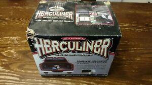 Herculiner Truck Bed Liner Kit For Pick Up Truck Beds Roll Brush On Black 6 Foot
