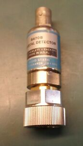 Hp 8470b Crystal Detector Low barrier Schottky Diode 10 To 18 Ghz Type Apc 7