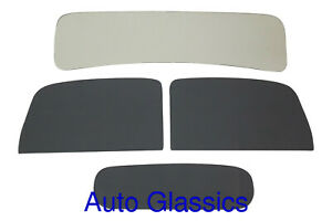 1937 1938 Chevrolet Gmc Pickup Truck Auto Glass New Chevy Low Roof Cab Windows