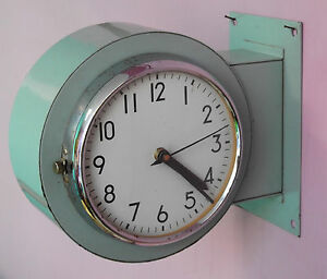 Vintage 1980 S Slave Maritime Clock Nautical Ship Quartz Citizen Japan