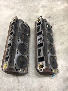 Gt40p Iron Cylinder Heads 4 Bar Ford Mustang Gt Lx Cobra 5 0 302 351w Explorer