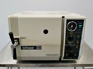 Tuttnauer 2340m Autoclave Dental Tattoo Veterinary Sterilizer With 3 Trays