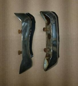 70 1970 Chevy Impala Caprice Rear Bumper Guards Chevrolet Bel Air Biscayne Gm