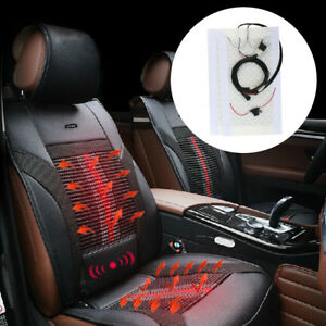 2 Or 4 Seats 4 Or 8 Pads Universal Car Seat Heater Kit Heated Seat Kit W Switch