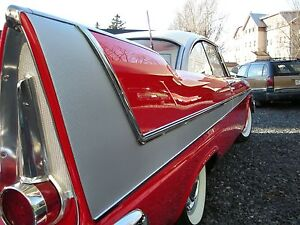 1958 Plymouth Belvedere Christine Aluminum Inserts New Reproduction 2 Doors