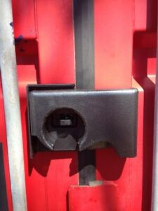 Bolt On Shipping Container Security Lock Box With A Free Puck Lock