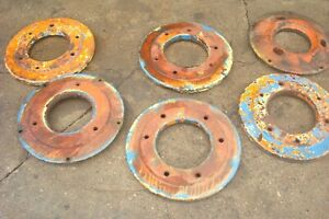 Fordson Major Diesel Tractor Rear Wheel Weights