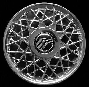 4 New Set Of 1998 2002 Mercury Grand Marquis Hubcap Aftermarket Wheel Cover