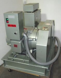 15kw 60 Hz To 50 Hz Frequency Converter No Brush Georator 25hp 6 Mo Wrty