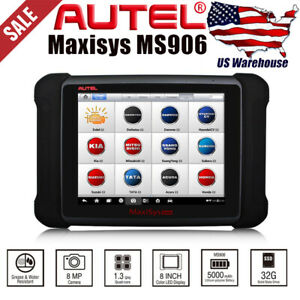 Autel Maxisys Ms906 Scanpad Diagnostic Scan Tool Better Than Maxidas Ds708 Mv108