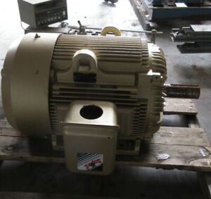 Reliance Baldor Electric Motor 100 Hp Em4400t 405t Frame 3 Phase 230 460