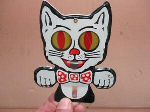 Felix The Cat License Plate Topper Eyes Move