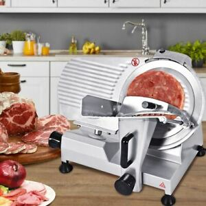 Removable 12 Commercial Blade Meat Cheese Fruit Bread Slicer semi automatic