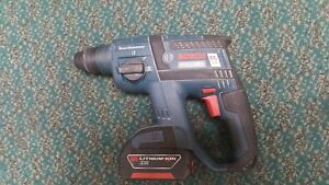 Bosch Rhh181 18v Li ion Brushless 3 4 In Sds plus Rotary Hammer Drill Kit