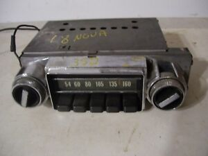 68 1968 Chevy Nova Ii 2 Radio