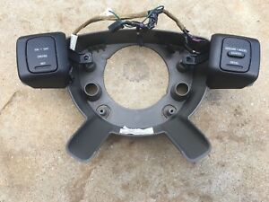 2004 07 Dodge Ram 1500 2500 3500 Steering Wheel Back Cover W Cruise Controls Oem
