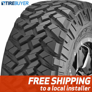 4 New 33x12 50r22 E Nitto Trail Grappler Mt Mud Terrain 33x1250 22 Tires M T