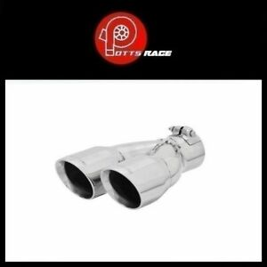 Flowmaster 15389 3 Stainless Dual Exhaust Tip Right Side For 2 5 Tailpipe