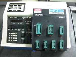 Data I o System 19 Universal Programmer With Unipak With Manual And Charts