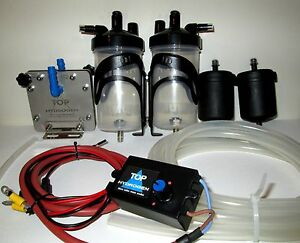 H2 Pure Hydrogen Generator D 45 Fuel Saver Car Kit Cc Pwm Instead Hho Use