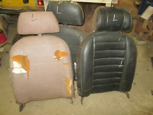 Mgb Drivers Seat Back With Head Rest