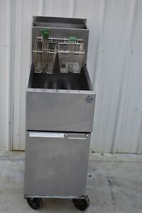 Dean Sr42gn Natural Gas Fryer