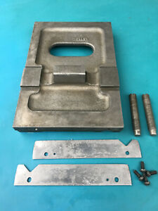 South Bend 13 Lathe Tailstock Baseplate Set Over Screws Retainers