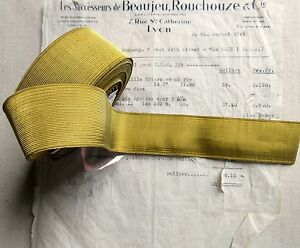 Special Price Antique Vintage French Gold Wire Metallic Trim 1 9 16 Military