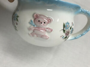 Vintage Inarco Child Chamber Pot Planter Porcelain Japan