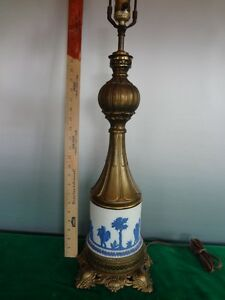 Vintage Wedgwood Lamp Brass