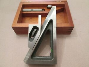 Brown Sharpe Planer Gage Number 624 Wooden Case