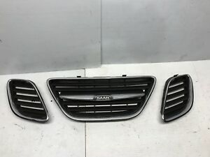 2003 2007 Saab 9 3 Grill With Right And Left Shell Insert Oem 03 07