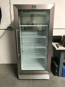 Kelvinator Commercial Single Glass Door Refrigerator 18 Cu Works Prefect