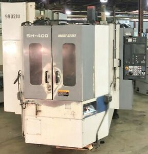 Mori Seiki sh 400 Cnc Horizontal Machining Center
