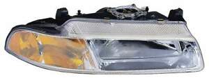 For 1995 1996 Chrysler Cirrus Dodge Stratus Plymouth Breeze Headlight Driver