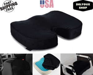 Seat Cushion Coccyx Foam Memory Pain Relief Orthopedic Chair Pillow Car Office