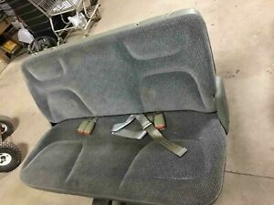1996 Caravan 3rd Row Back Grey Cloth Folding Bench Seat free Shipping