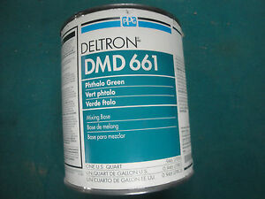 Dmd 661 Phthalo Green Ppg Deltron 2000 Universal Mixing Base Vintage Dbu Dbc