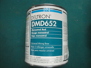 Dmd 652 Monastral Red Ppg Deltron 2000 Universal Mixing Base Vintage Dbu Dbc