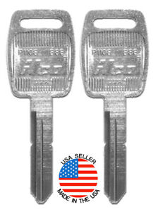 2x New Ilco B88 P1108 Blank Key Fits Saturn Sc Sl 91 96 Sw 93 96 Peterbilt