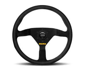 Momo Steering Wheel Mod 78 Black Suede 350mm Us Dealer