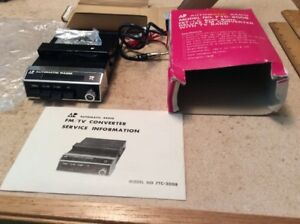 Nos Automatic Radio Fm Converter Made In Japan