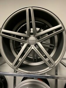 Vossen Cvs Cv5 Wheels 20x9 20 x10 5 Matt Gray 20 425x120 Staggered