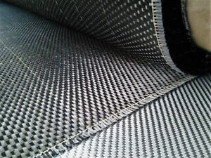Carbon Fiber Fabric Plain Weave 3 5 Oz 42 Wide 7 Feet Free Shipping