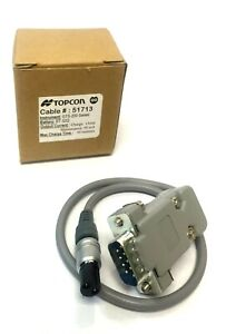 Topcon Cable 51713 For Gts 200 Series 2 Pin Bt 32q 1amp