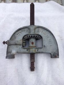 Enterprise No 40 Antique Sausage Stuffer Working Gears And Housing Onlyl
