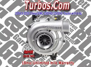 New Garrett Turbocharger 2006 09 Chevy Gmc 6 6l For Lbz Lmm Ll Duramax Diesel