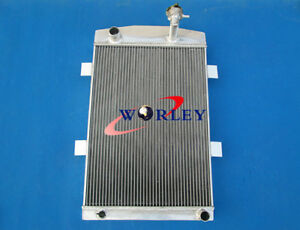 56mm 27 Up To 700hp Aluminum Alloy Radiator For Chevy 350 V8 Mt 1935 1936